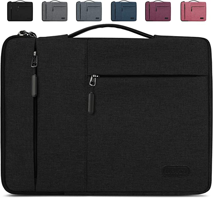TALLA 13-14 inch. Lubardy Funda Portátil Compatible 13-14 Pulgadas Laptop Impermeable Maletín para Funda Ordenador Portátil Protectora Prueba Golpes Compatible Macbook Air/Pro, HP, DELL, Samsung, etc Negro