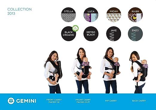 Amazon Beco Gemini Baby Carrier Metro Black Organic Child