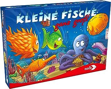 Noris Spiele 606101755 pequeños Peces Muy Grande – El de Tablero para Popular Juego de Cartas: Amazon.es: Juguetes y juegos