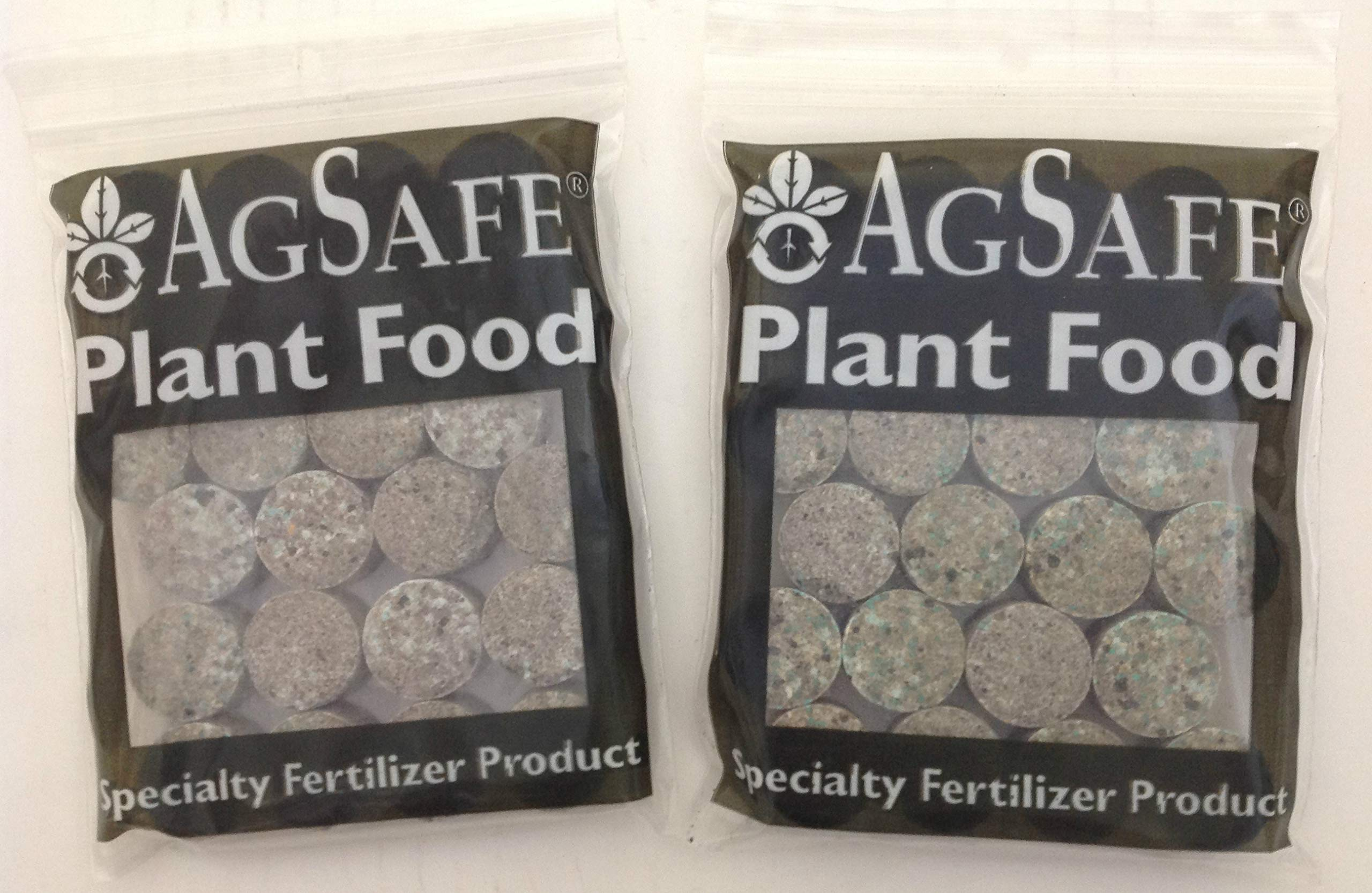 Custom Pro AgSafe Aquatic Fertilizer Tablets for Pond & Water Garden Plants Promote Plant Health, Flowering and Growth (2 Pack/48 Tablets)