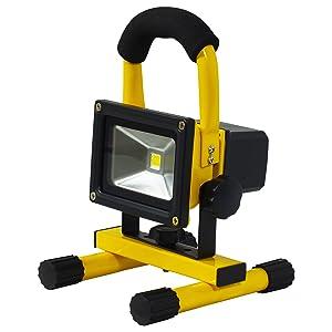 日動工業 充電式LEDチャージライトmini BAT-10W-L1PS-Y