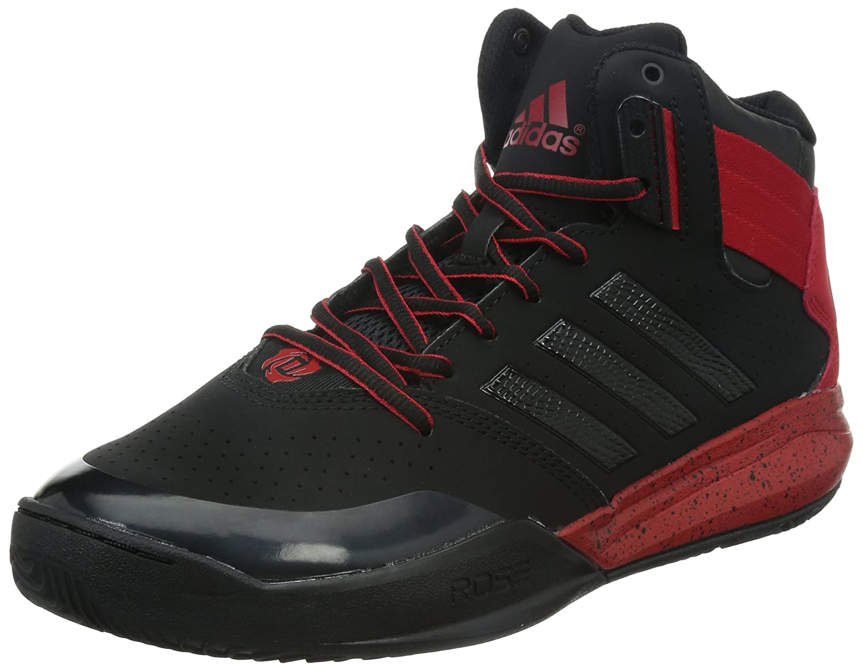 b7144336795 adidas Performance DERRICK ROSE 773 IV Black Red Men Basketball Shoes  Adiwear  Amazon.co.uk  Sports   Outdoors