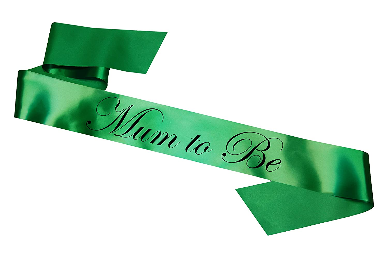 gaixample.org Mummy To Be Sash Green Toys & Games Ties & Sashes