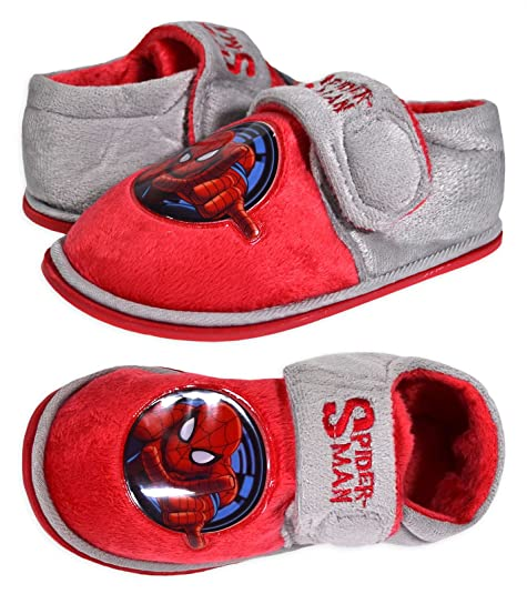 Spiderman - Zapatillas de Estar por casa para niño, Color Rojo, Talla 28 EU Juventud: Amazon.es: Zapatos y complementos