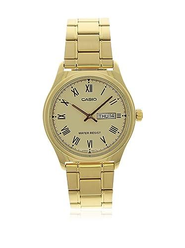 Casio Reloj con Movimiento Cuarzo japonés Man Mtp-V006G-9B 38.0 mm: Amazon.es: Relojes