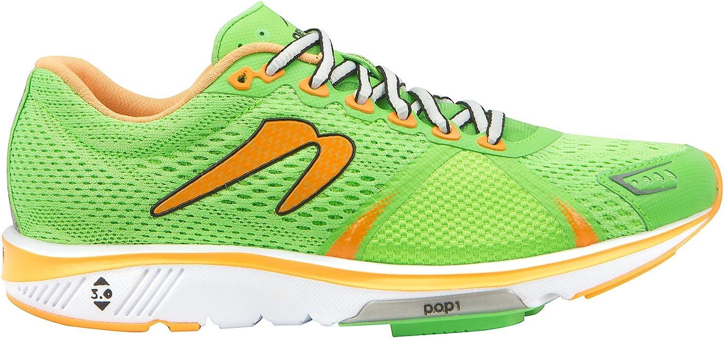 Newton Gravity V de la Mujer Verde/Naranja Zapatillas de Running ...