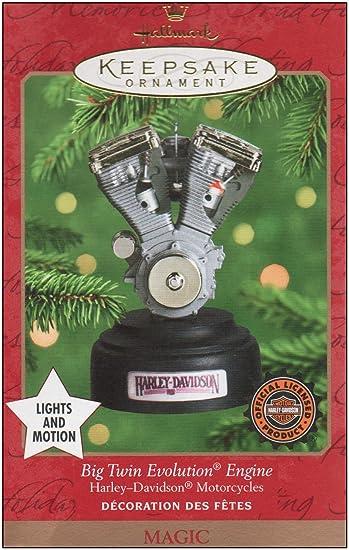 Image Unavailable - Amazon.com: Hallmark Keepsake Ornament Big Twin Evolution Engine
