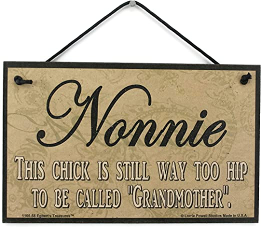 5x8 Sign Nonnie/'s Place House Love Welcome Grandma Mom Grand Parent Mother Best
