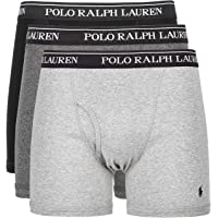 Ralph Lauren Polo Mens 3-Pack Long Leg Boxer Brief