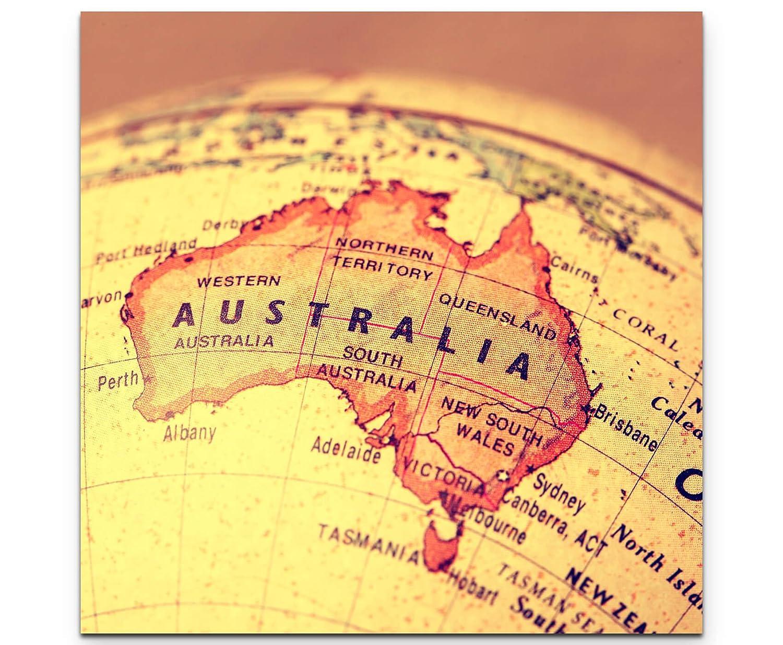 Paul Sinus Art Leinwandbilder | Bilder Leinwand 60x60cm Australien ...