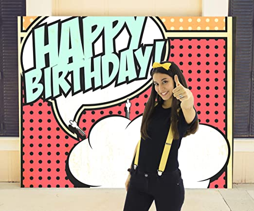 Photocall Personalizado Con Fotografía Para Cumpleaños | 100 ...