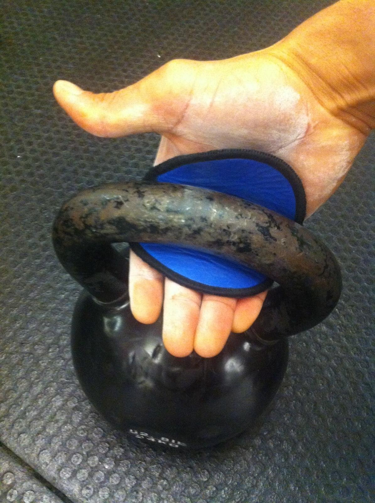 Fingerless Workout Gloves - The OG Alternative to Gym Gloves - Genuine Leather w 4 Finger Loop Sweat Proof Backing by GymPaws (Image #7)