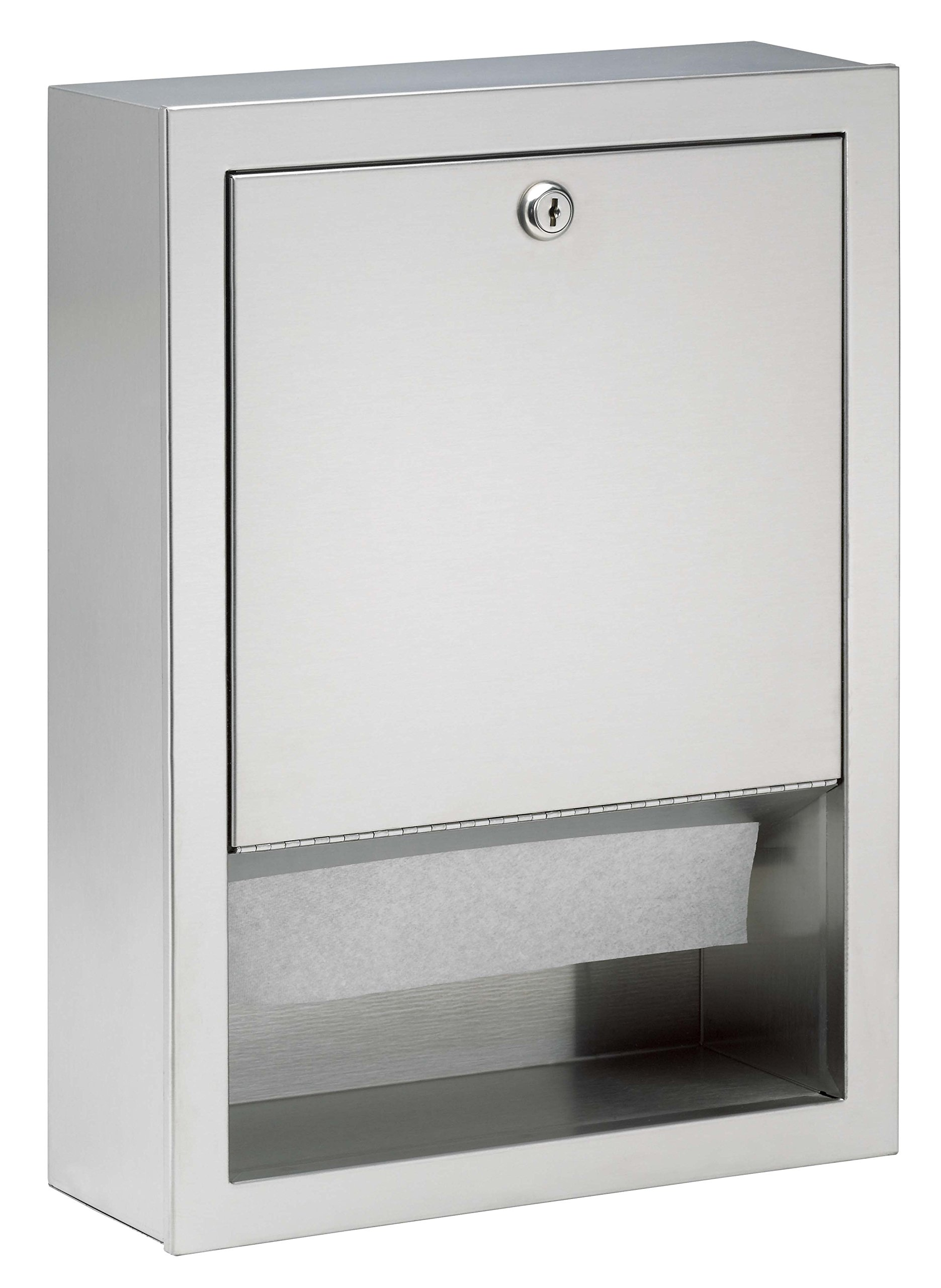 Bradley Corporation 2441-110000 Bradley 2441-110000 Towel Disp, Folded, Surface Mounted