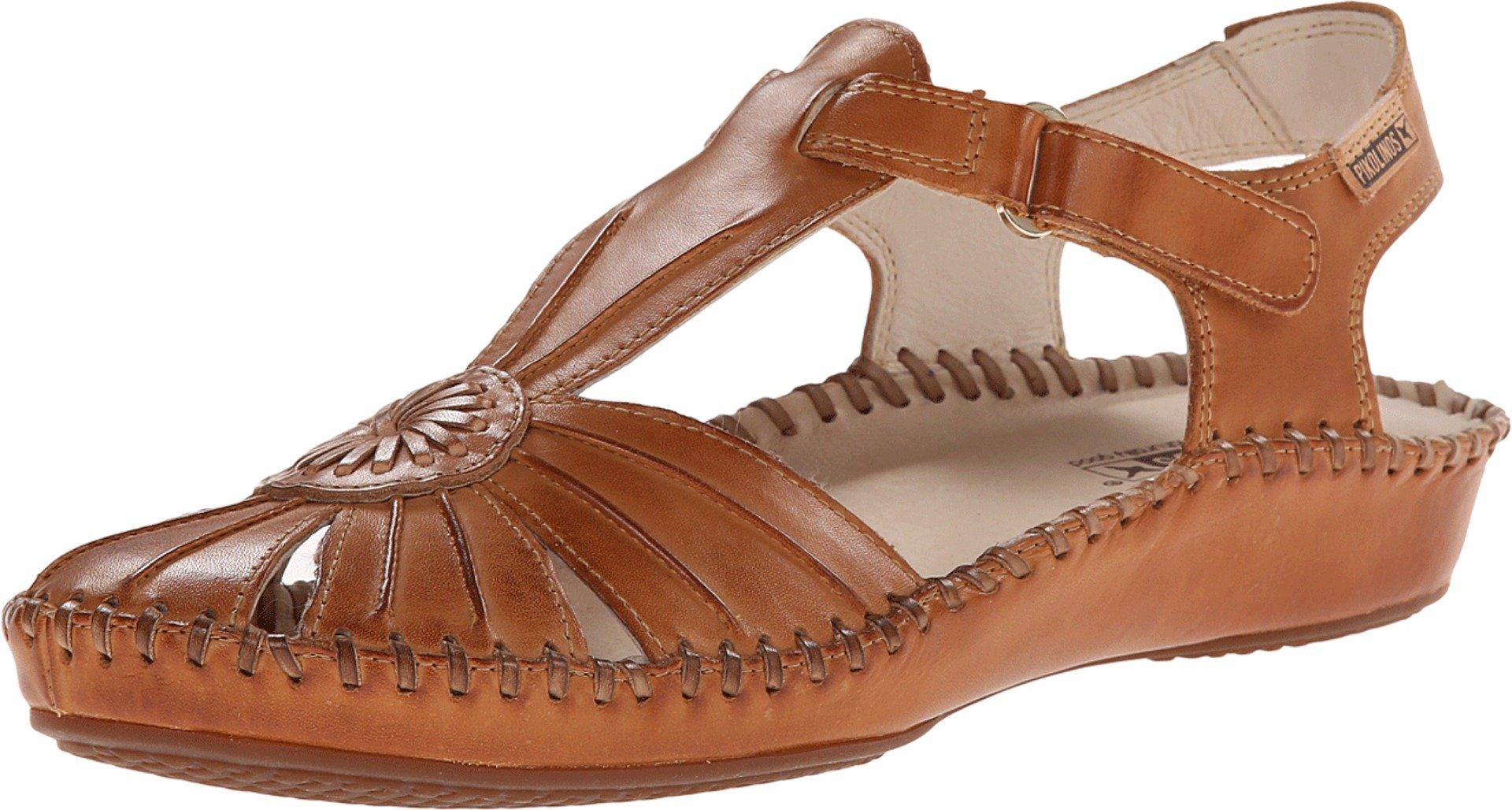 Pikolinos Women's VALLAR Brown Sandal 38 M EU, 7.5-8 M