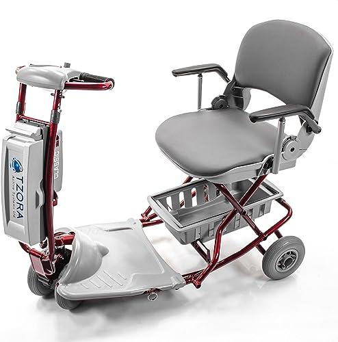 Tzora - Classic Lexis Light - Folding Lightweight Travel Scooter