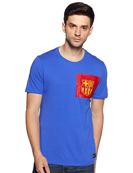 23722b98790fd Amazon.com : Nike FC Barcelona T-Shirt [Game Royal] : Clothing