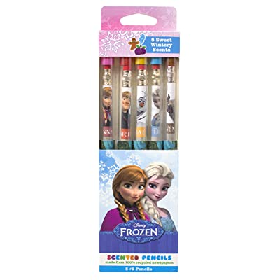 Disney Frozen Smencils 5-Pack of HB #2 Scented Pencils