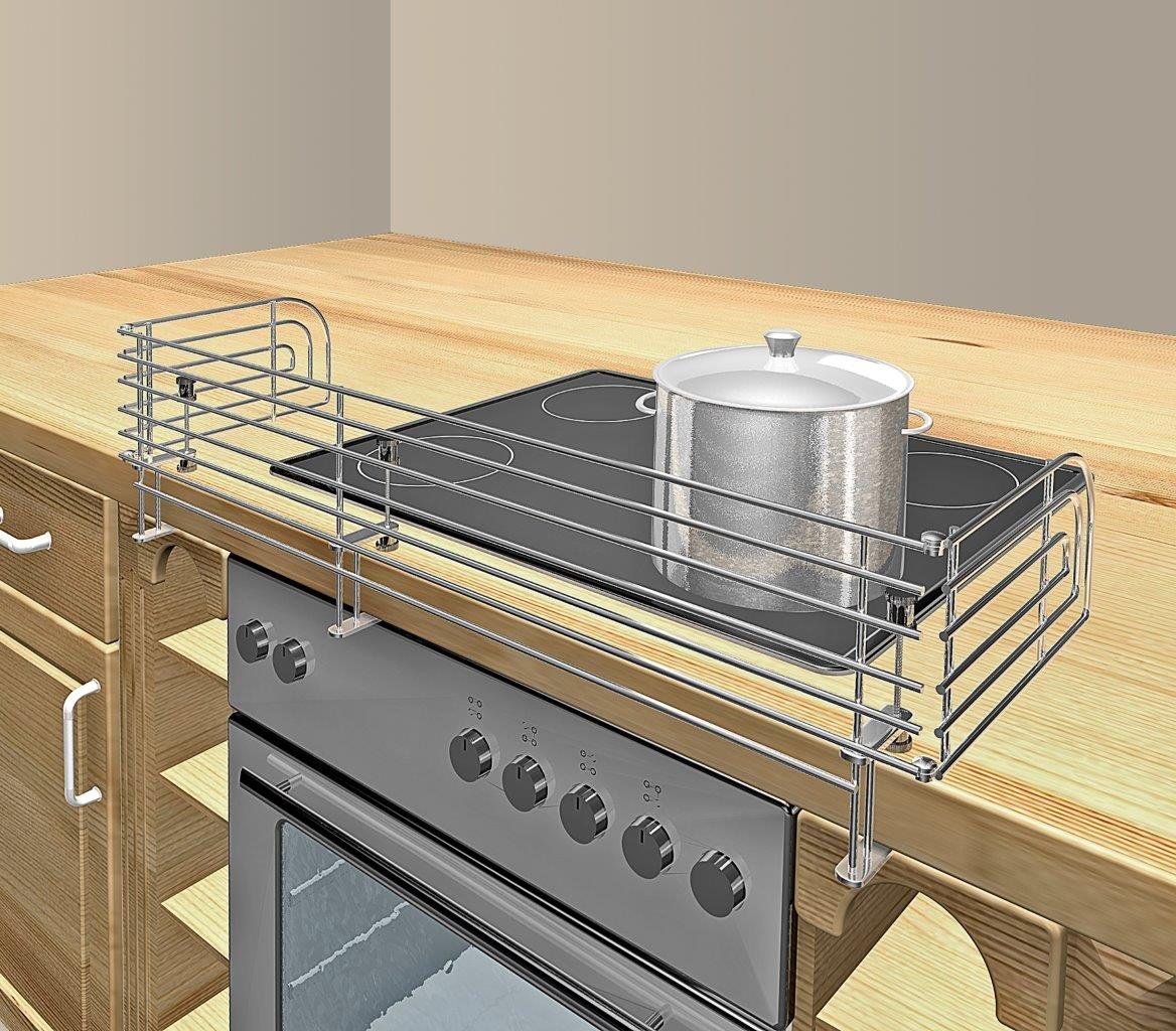 Reer Stove Guard chromium in stainless steel design 2010