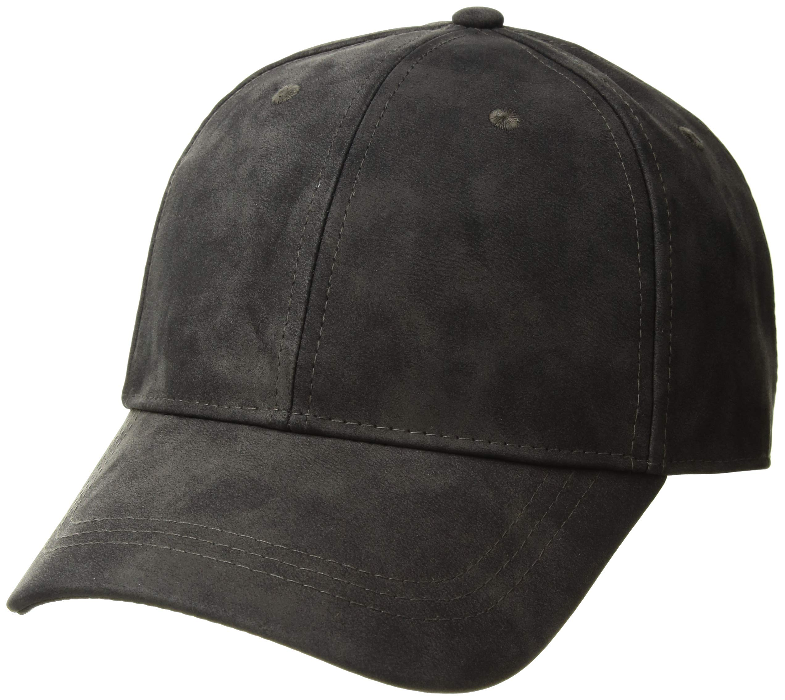 Michael Stars Women's Washed Faux Leather Cap, Oxide, One Size