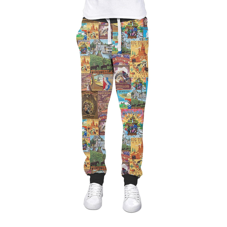 Frontierland Pantalones de chándal con puños inspirados en Disney ...