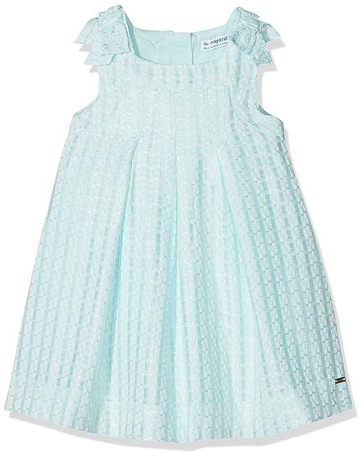 Mayoral 1910, Vestido para Niñas, Azul (Agua), 182 (Tamaño del