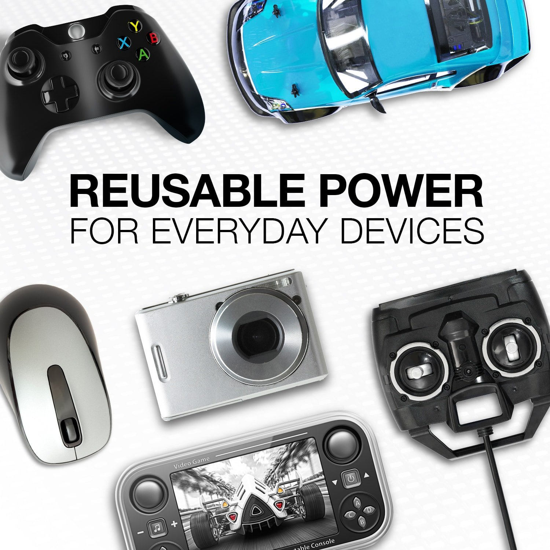 opgehaald mode grootste korting Energizer Rechargeable AA Batteries, NiMH, 2000 mAh, Pre ...