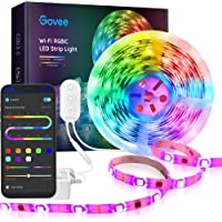 Govee Rgbic Color 16.4ft Wireless Smart Phone Controlled LED Strip Lights