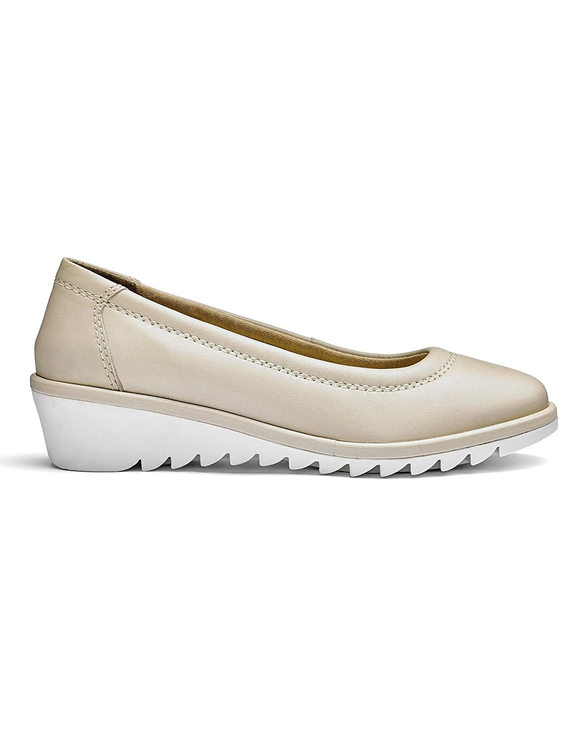 Womens Heavenly Soles Leather Ballerinas JD Williams