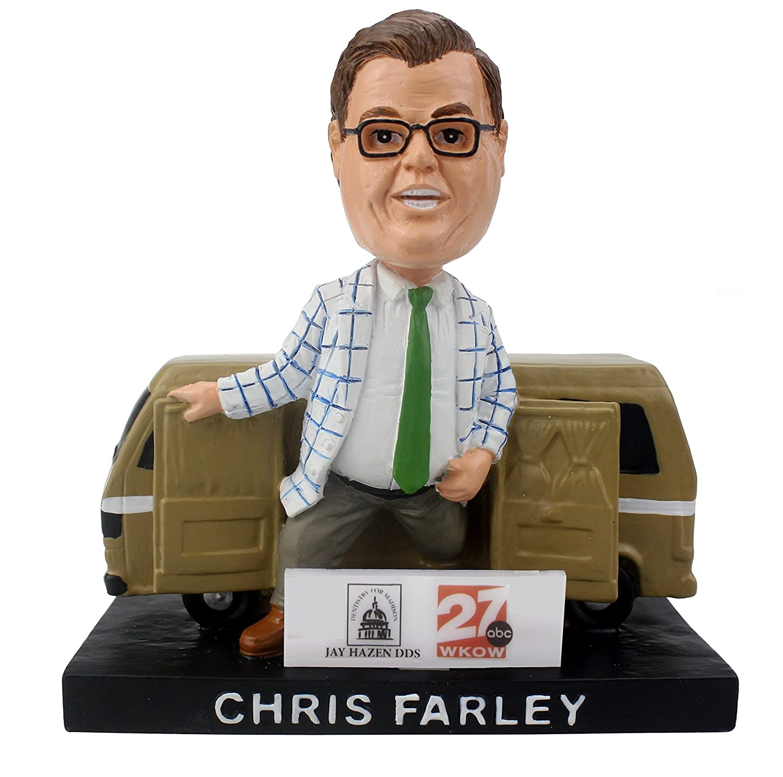 Chris Farley Madison Mallards 2017 SGA Bobblehead