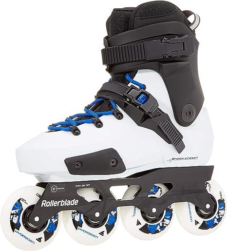 White//Royal Blue 290 Adults Unisex Rollerblade Twister Edge X Skates White
