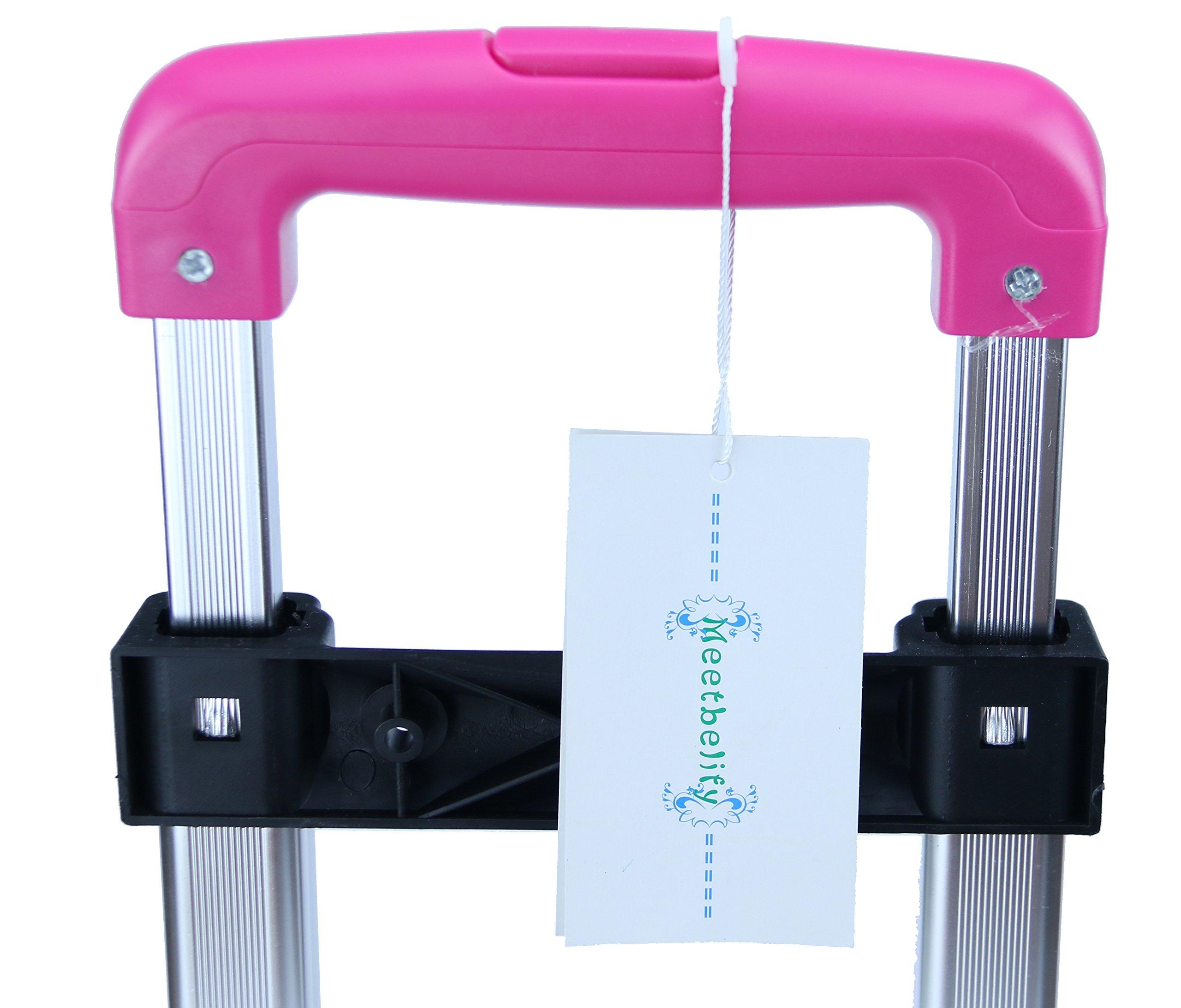 Meetbelify Kids Rolling Backpacks Luggage Six Or Two Wheels Unisex