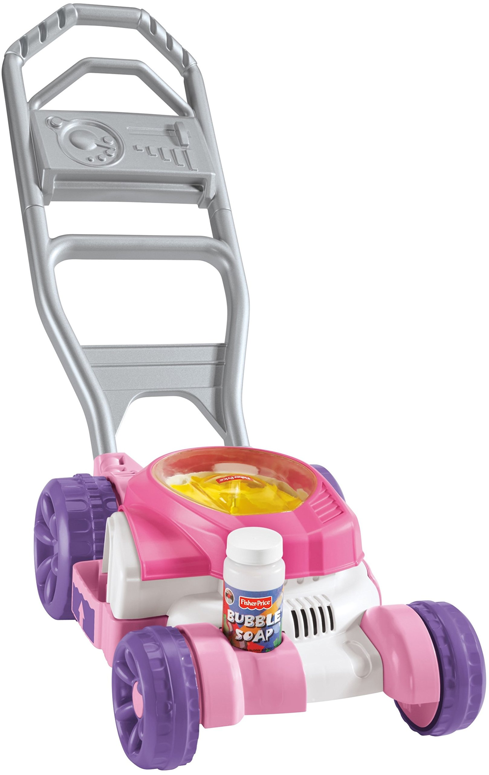 Fisher Price Bubble Mower, Pink by Fisher-Price