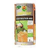 COMPO SAAT® Vertikutier-Mix, perfekt abgestimmte Rasenpflege, für die gelungene Rasen-Reparatur und Regeneration nach dem Vertikutieren