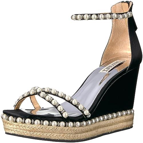 2576902a181 Badgley Mischka Women's Sloan Espadrille Wedge Sandal