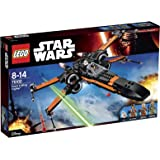 LEGO - 75102 - Star Wars - Jeu de Construction - Poe's X-Wing Fighter