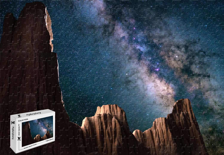 超激安 PigBangbang 29.5×19.6インチ B07JLVGP4L 木製 木製 星空大聖堂ゴージ州立公園 1000ピースジグソーパズル B07JLVGP4L, Julius:919bac49 --- 4x4.lt