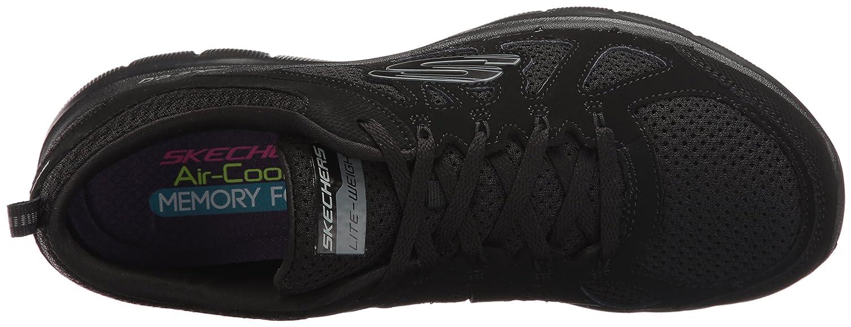 Skechers Sport Women'S 12761 - Zapatillas para Mujer Negro Talla única, Color Negro, Talla 43 EU F