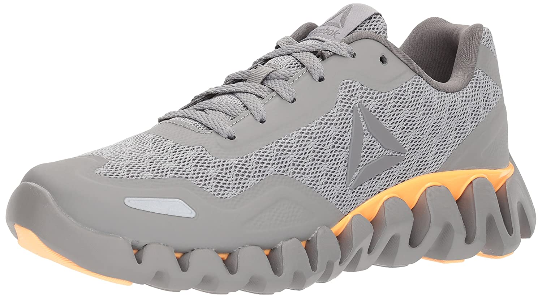 Reebok Women's Zig Pulse-SE Sneaker B071P9QJQX 9 B(M) US|Ch Solid Grey/Mgh Solid Grey/Shark/Desert Glow