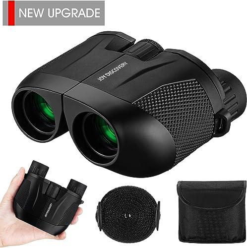 Compact Binoculars 10X25 HD Small Binoculars Palm-Sized Lightweight Easy Focu