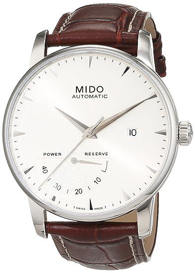 Mido Reloj Digital para Hombre de Automático con Correa en Cuero M8605.4.11.8: Amazon.es: Relojes