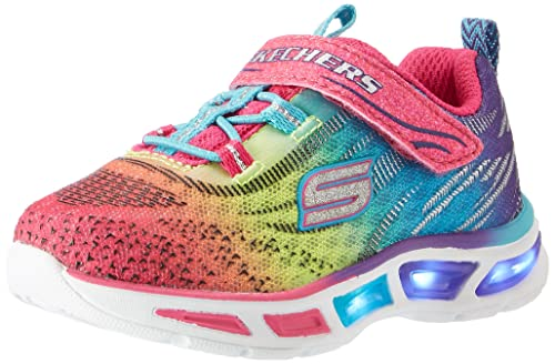 Skechers S Lights: Litebeams, Zapatillas para Niñas, Multicolor (Mlt), 35 EU