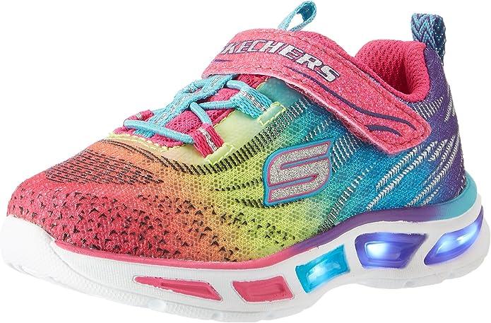 Skechers S Lights: Litebeams, Zapatillas para Niñas: Amazon.es ...