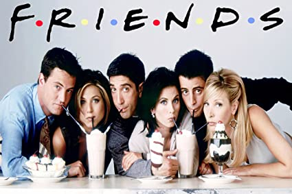 FRIENDS Series Poster Wall TV 18X12 BY Vprint