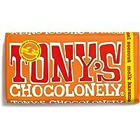 Tony's Chocolonely - Chocoladereep Melk Karamel Zeezout - 180 gram - Fairtrade Chocolade
