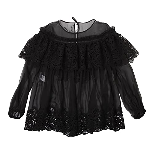 Alberta Ferretti Mujer V0202114555 Negro Seda Blouse