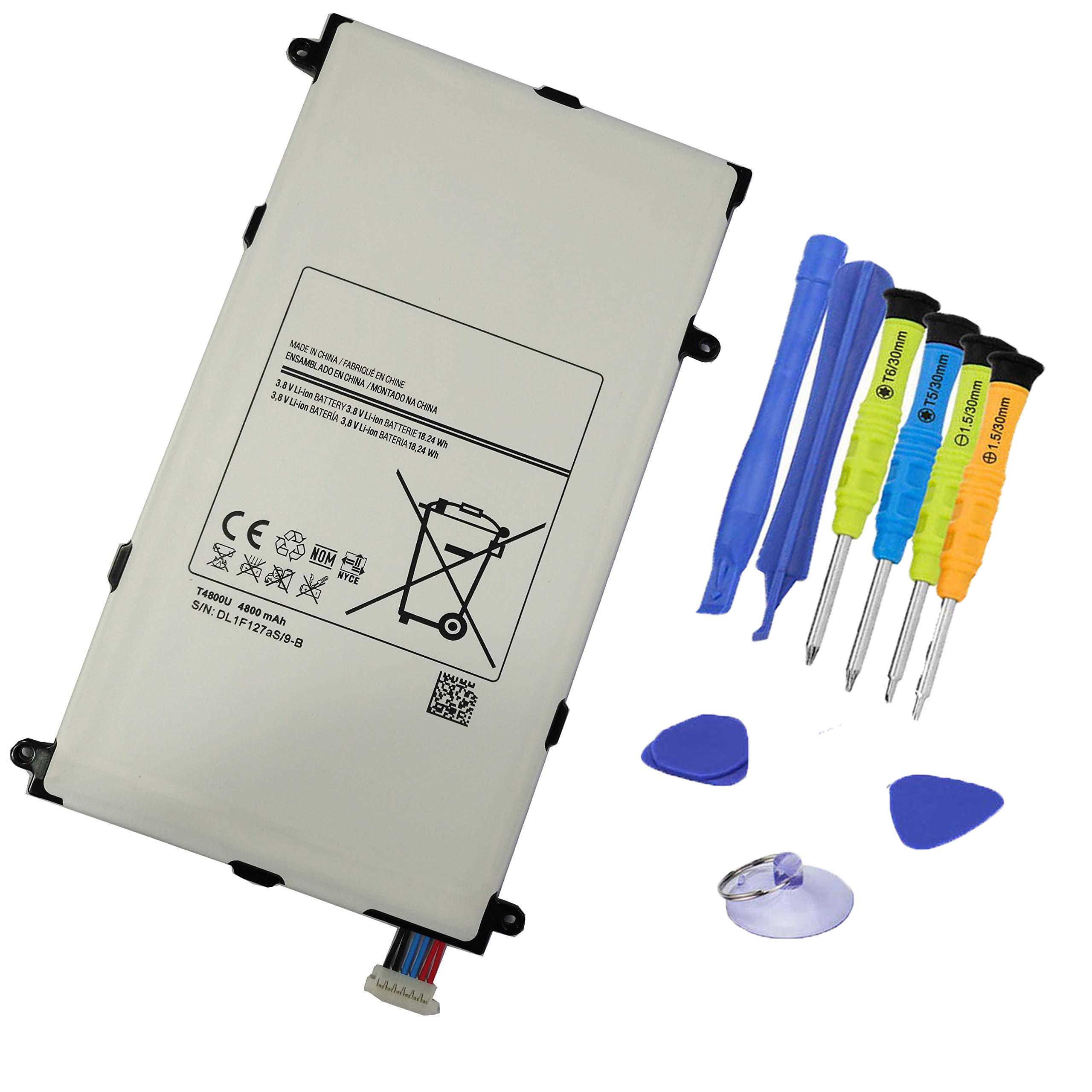 Bateria 3.8v 18.24wh 4800mah T4800u Para Samsung Galaxy Tab Pro 8.4 Tablet Pc Sm-t325 T320 T321 Series T4800e T4800k T48
