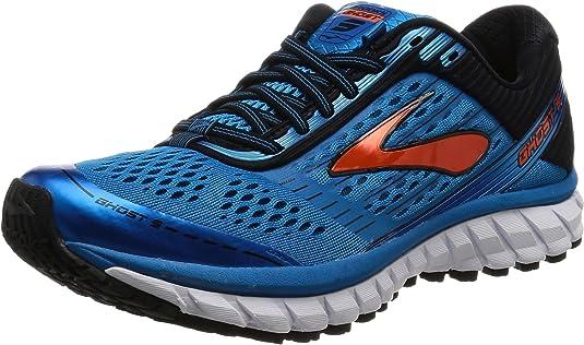 Brooks Ghost 9 M - Zapatillas de Entrenamiento Hombre, Azul (Methylblue/black/flame), 48.5 EU: Amazon.es: Zapatos y complementos
