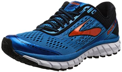 b63ab20828132 Brooks Men s s Ghost 9 M Running Shoes Methyl Blue Black Flame 901 ...