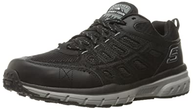 Skechers Sport Mens Geo Trek Oxford Sneaker,Black/Gray,8.5 ...