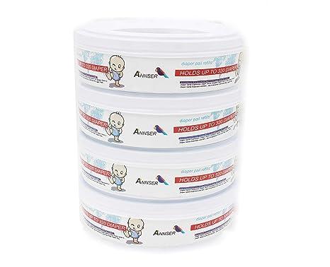 pack of 4 Diaper genie elite refills
